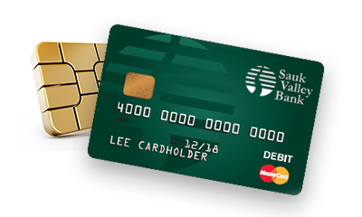 Sauk Valley Mastercard® Debit Card with Chip Technology