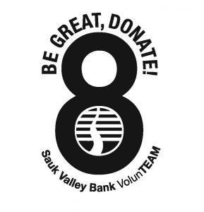 Be Great, Donate 8 logo